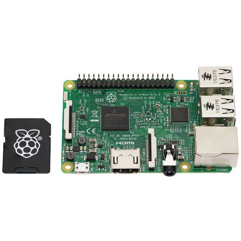 Raspberry Pi 3 Model B with 16GB NOOBS Micro SD card